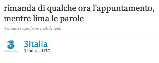 3 italia twitter