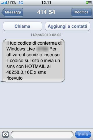 sms-hotmail-costo