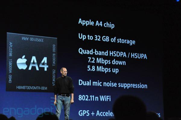 caratteristiche tecniche iphone 4