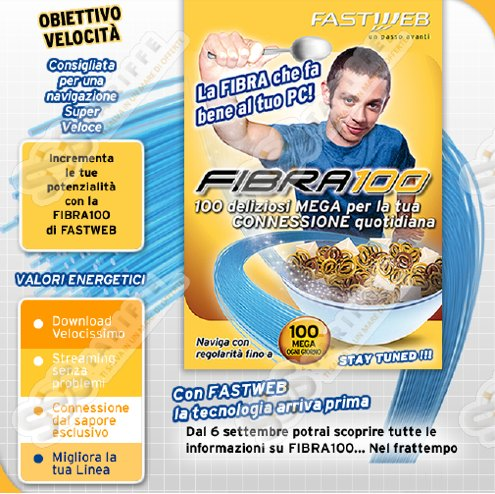 Fibra 100 Fastweb