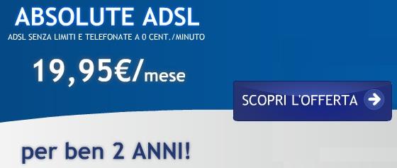 Adsl infostrada 2 anni in sconto a 19 euro solo oggi for Offerta telecom per clienti da piu di 10 anni