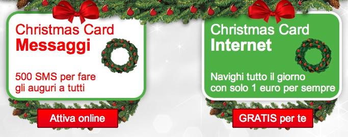 vodafone christmas card messaggi