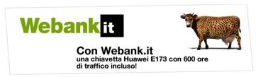 chiavetta con webank