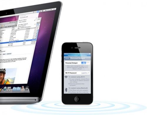 hotspot iPhone 4.3