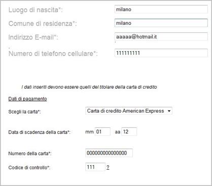 Modulo Wi Fi Trenitalia