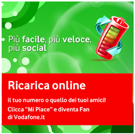 Ricarica Vodafone