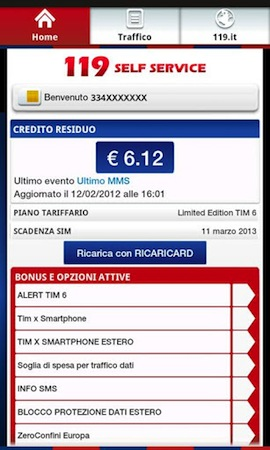 app tim 119