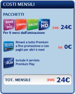 Promo premiumgoal di mediaset ora anche per i nuovi for Premium play su smart tv calcio live
