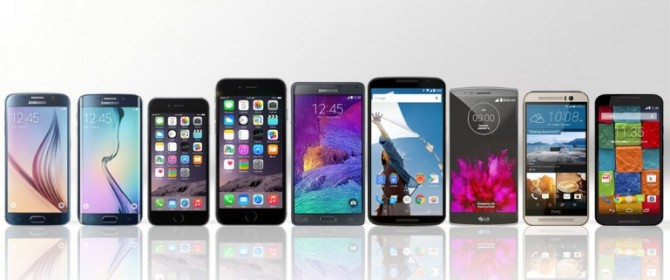 Samsung vs Apple vs Google vs Motorola vs LG vs HTC: smartphone a confronto