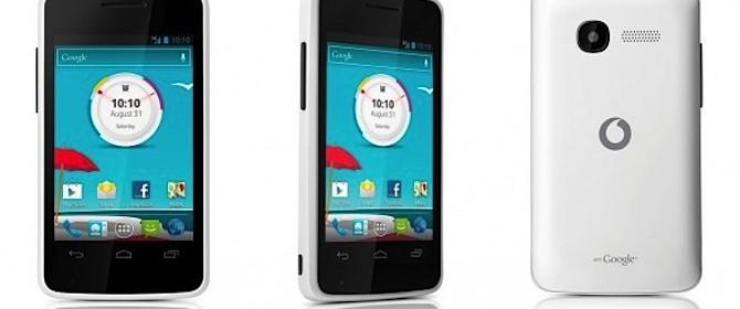 Lo smartphone va ad ampliare la gamma dei prodotti Vodafone branded