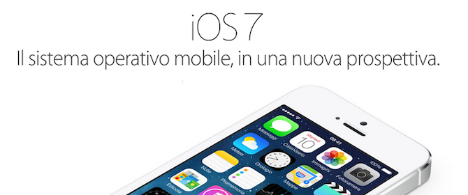 La casa produttrice Apple ha rinnovato profondamente il suo software mobile