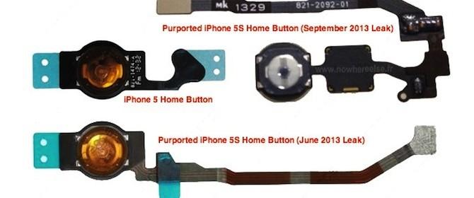 Una foto pubblicata su internet confermerebbe la presenza del sensore biometrico