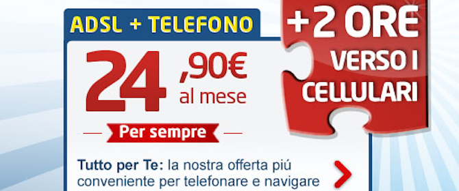 confronta offerte adsl telefono business plan