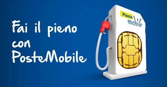 Buoni benzina gratis, con PosteMobile puoi averli