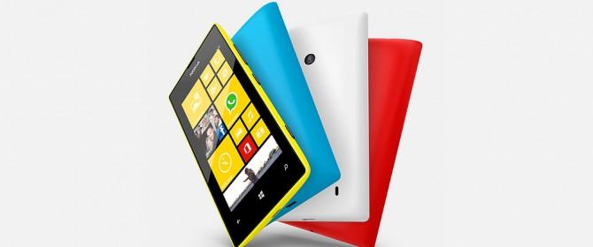 Sky e Fastweb regalano un Nokia Lumia 520
