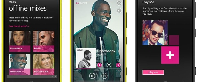 Nokia MixRadio è disponibile per il download presso Windows Phone Store