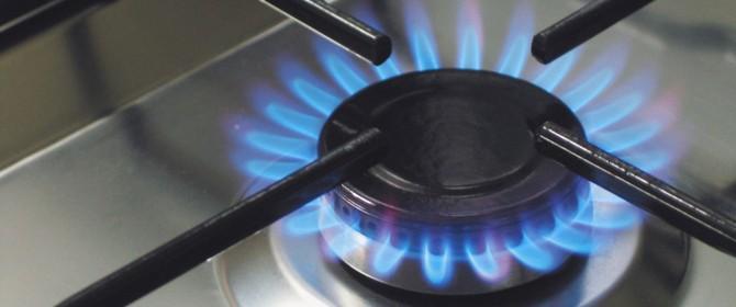 Forte calo dei consumi di gas nel 2013