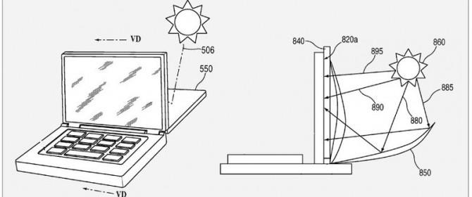 macbook a energia solare