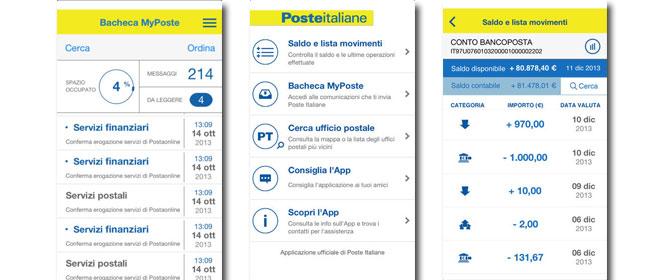 La nuova App di ContoBancoPosta su iPhone 5