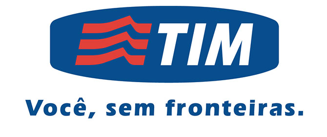 Il logo di Tim Brasil