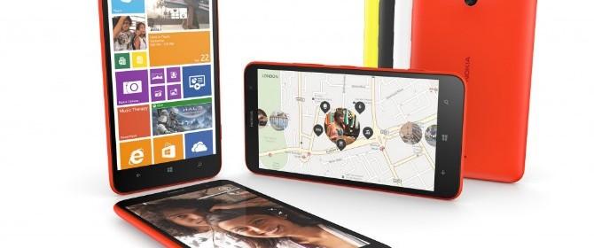 Dal 10 febbraio, Nokia Lumia 1320 in vendita in Italia