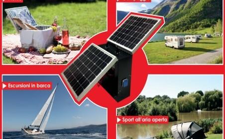 fotovoltaico, trolley ad energia solare