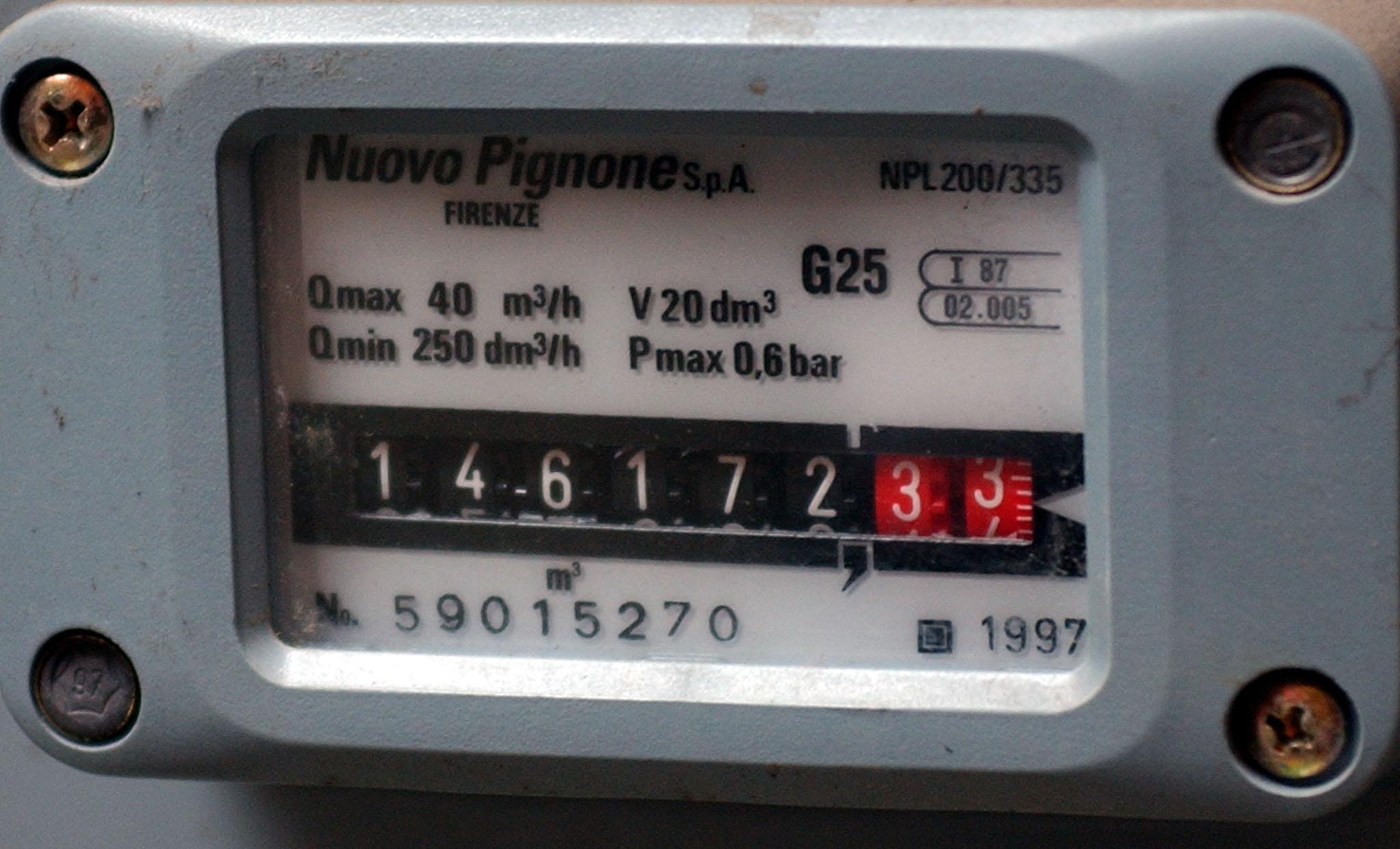 Contatore luce e gas come sapere se funzionano bene for Taroccare contatore gas