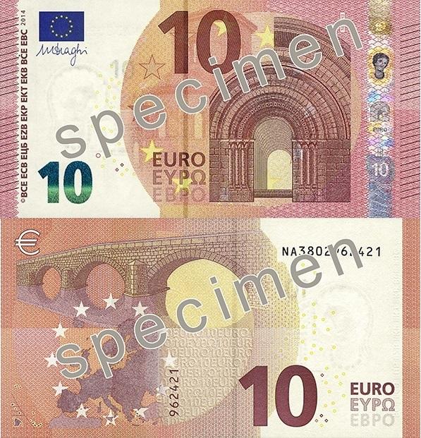 Nuovi 10 euro 2