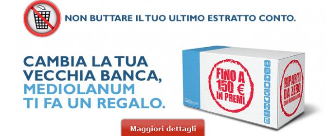 Promozioni mediolanum aprendo un conto corrente un iphone - La banca piu conveniente per aprire un conto corrente ...