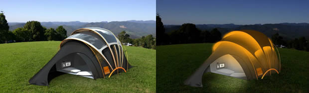 tenda solare come funziona
