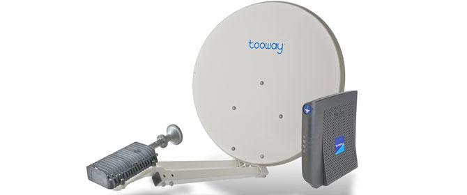 Internet con parabola perch scegliere tooway for Internet senza fili casa