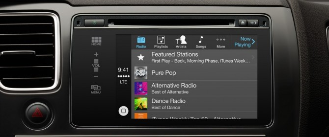 Apple Car Play porta internet in alcune auto di fascia top