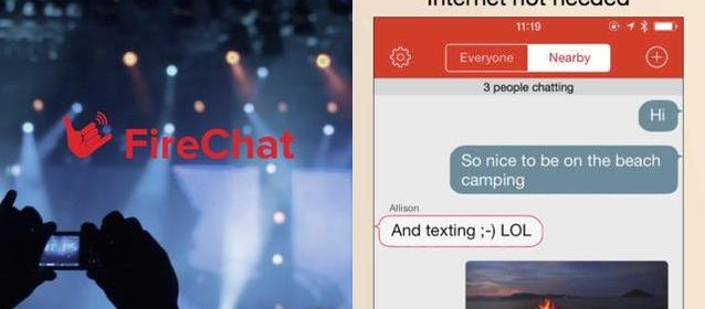 Arriva FireChat, la chat peer-to-peer per utenti Apple