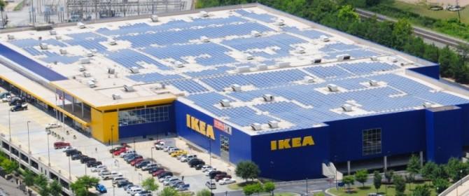 energia rinnovabile, Ikea taglia i consumi elettrici grazie al fotovoltaico