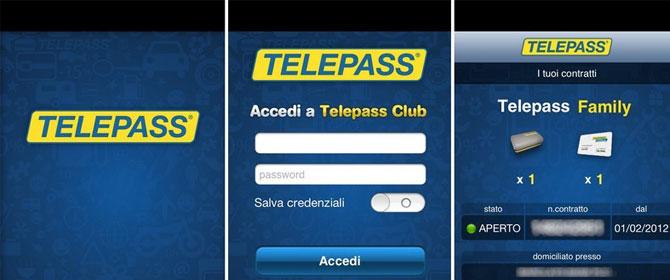Telepass-app