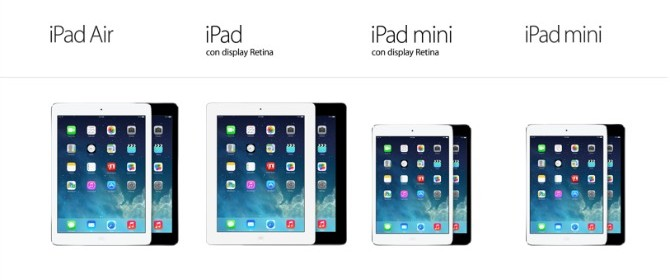 Apple Store Online: addio iPad 2, bentornato iPad 4