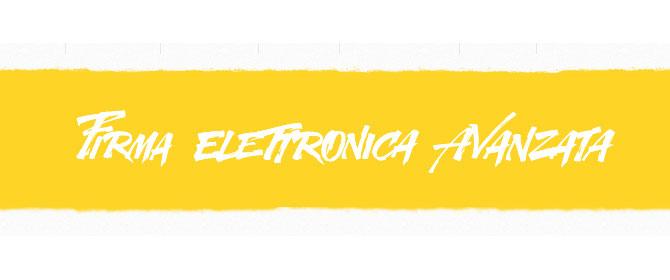 Firma-elettronica-avanzata