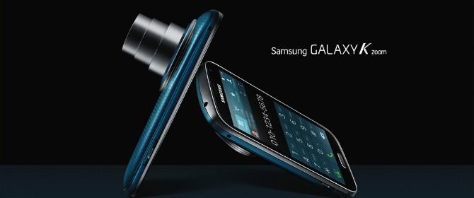 Samsung Galaxy K zoom è progettato per intercettare le esigenze degli appassionati di fotografia