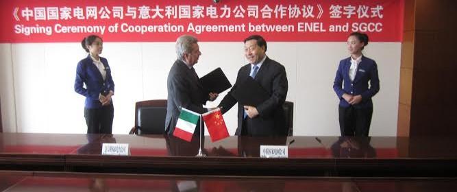 nuovo accordo Enel in Cina