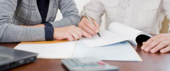 documenti per firmare un contratto di prestito