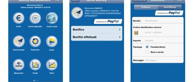 come funziona il servizio mediolanum send money