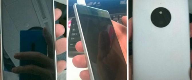 Nokia Lumia 830 sarebbe stato catturato in fotografia