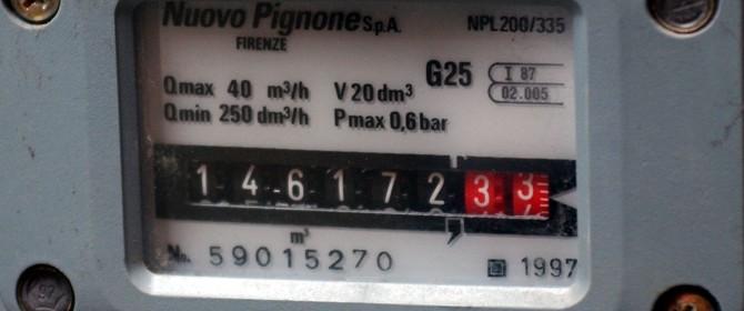 Nuovi contatori gas attenzione alla lettura e la - Contatore gas in casa ...