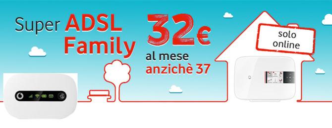 Canone scontato a 32 euro al mese sul piano Internet e ...