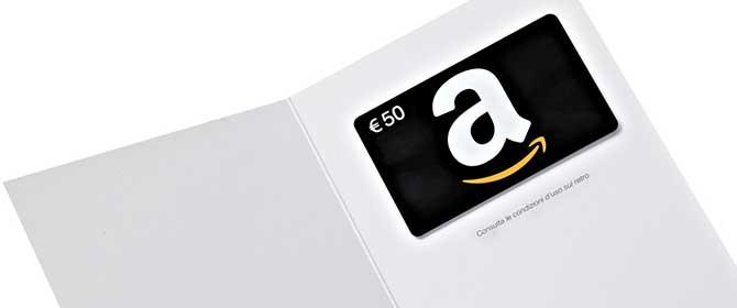 Carta Amazon Ricaricabile