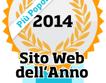 sito web dell'annno 2014