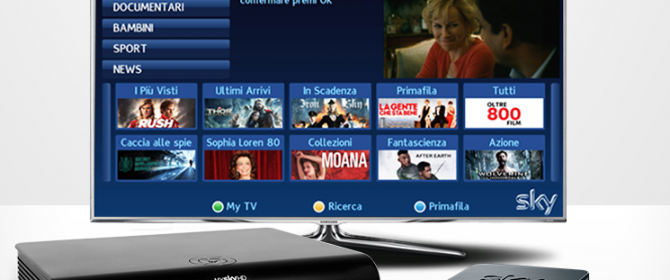 sky on demand come funziona
