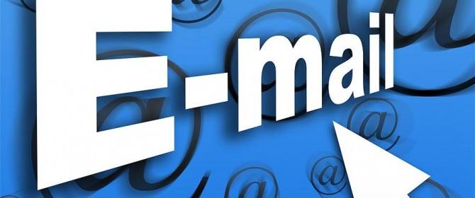Email strumento di lavoro più importante