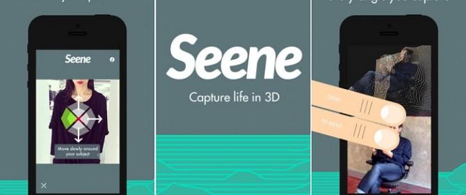 Scopriamo Seene, primo social dedicato alle foto 3D!
