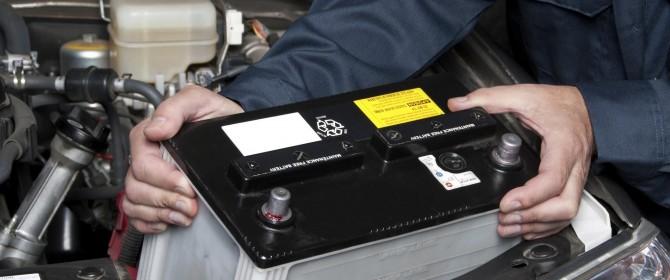 riavviare macchina batteria